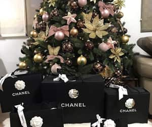christmas, chanel, and luxury image