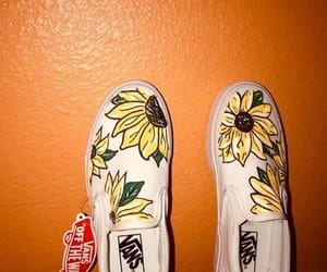 art, sunflower, and beautiful image