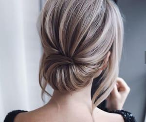 blonde hair, hair, and long hair image
