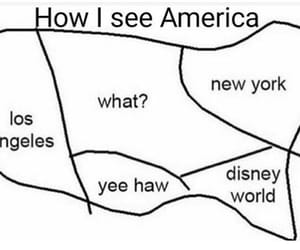 america, funny, and nyc image