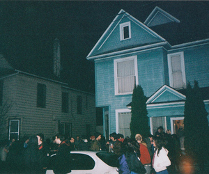 party, house, and grunge image