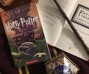 books, chamber of secrets, and childhood image