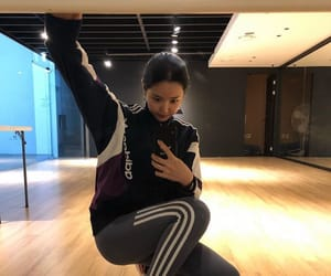 adidas, dancing, and EXCERCISE image