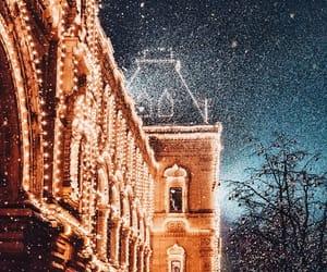 christmas and moscow image