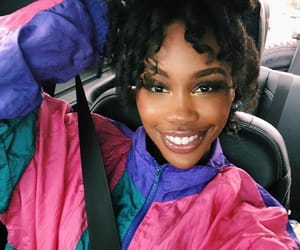 smile, sza, and 💖 image
