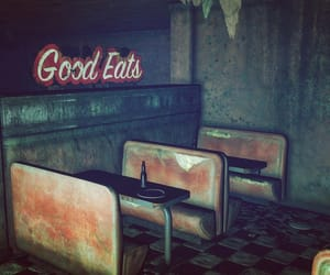 abandoned, eerie, and fallout image