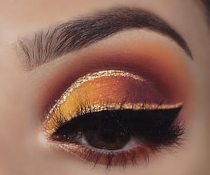 beauty, eyeliner, and eyeshadow image