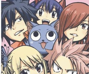 fairy tail, happy, and lucy heartfilia image