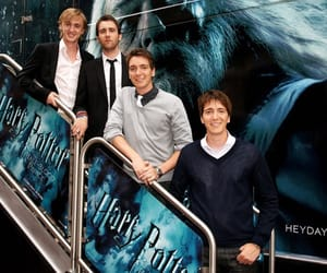 harry potter, james phelps, and oliver phelps image