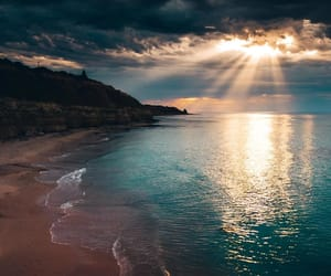 nature, beautiful, and beach image