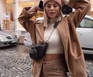 brown, fashion, and girl image