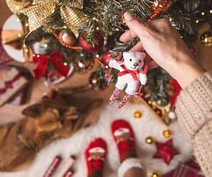 christmas, joy, and happiness image