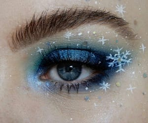 blue, winter, and christmas image