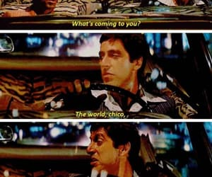 quote, scarface, and kvrdo image