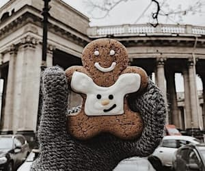 christmas, cookie, and snow image