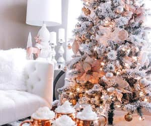 christmas tree, decorations, and merry christmas image