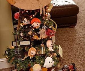 christmas, harry potter, and merry christmas image