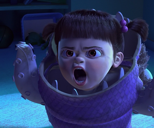 animation, boo, and monsters inc image