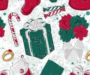 christmas, red, and santa image