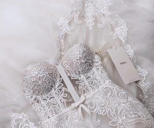 b, bride, and dress image
