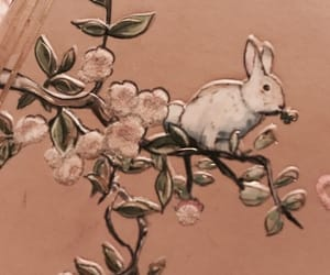 art, bunny, and design image