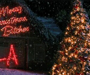 pretty little liars, christmas, and pll image