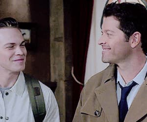 gif, spn, and castiel image