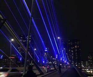 night, streets, and rotterdam image