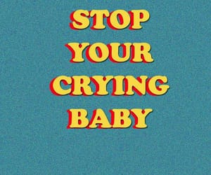 wallpaper, baby, and crying image