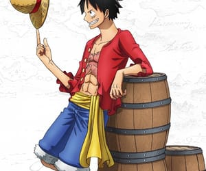 anime, luffy, and mugiwara image