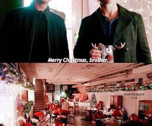 merry christmas, the vampire diaries, and stefan salvatore image