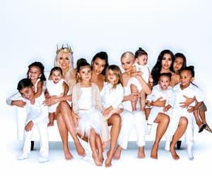 christmas card, family, and kim kardashian image