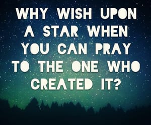 stars, god, and wish image