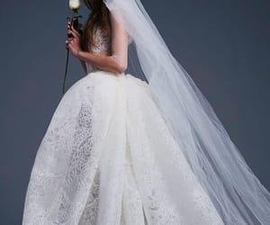 ballgown, portrait, and romance image