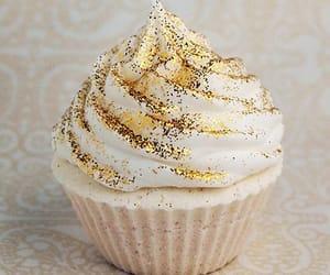 cupcake, food, and glitter image