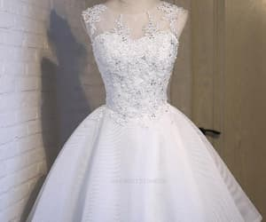 short homecoming dress, homecoming dress a-line, and homecoming dress white image