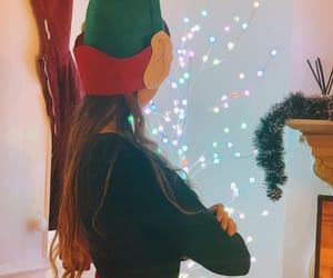 christmas, elf, and girl image