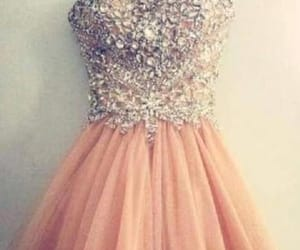 short homecoming dress, prom dresses pink, and cute homecoming dress image