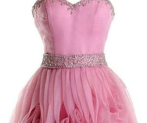 cute prom dresses, pink homecoming dress, and custom homecoming dress image