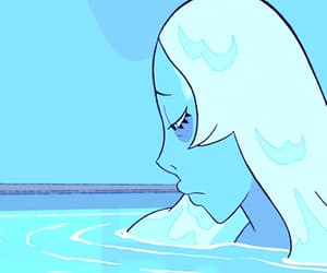 blue, steven universe, and cartoon image