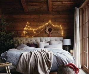 bedroom, christmas, and cozy image