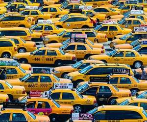 cabs, cars, and taxis image