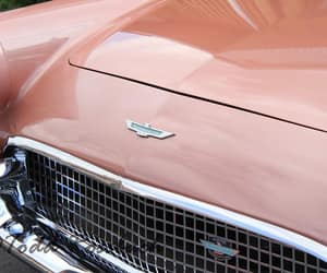 cars, pink, and vintage image