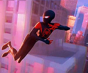 gif and spider-man milesmorales image