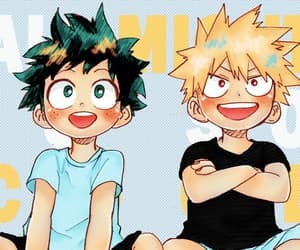 anime, chibi, and boku no hero academia image