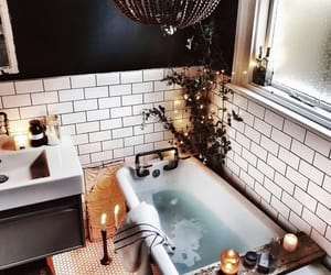 bath, inspiration, and magazine image