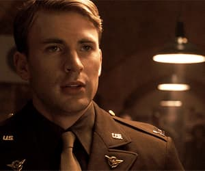 actor, captain america, and funny face image