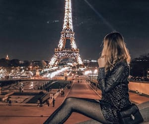christmas, midnight, and parisian image