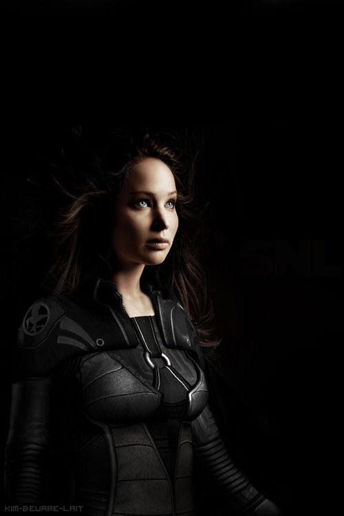 katniss everdeen, hunger games, and Jennifer Lawrence image