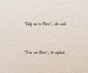 paris, quotes, and love image